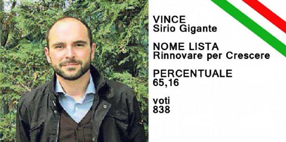 Sirio Gigante è il nuovo sindaco di Pocenia (© Diario di Udine)
