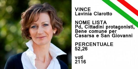 Lavinia Clarotto è stata rieletta sindaco di Casarsa della Delizia (© Diario di Pordenone)