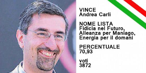 Andrea Carli è stato riconfermato sindaco di Maniago (© Diario di Pordenone)