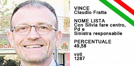 Claudio Fratta è stato eletto sindaco di San Canzian d'Isonzo (© Diario di Gorizia)
