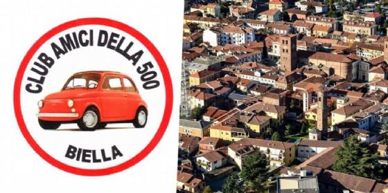 Le Fiat d'epoca di Biella sono pronte a radunarsi a Santhià per l'appuntamento annuale (© Diario di Biella)