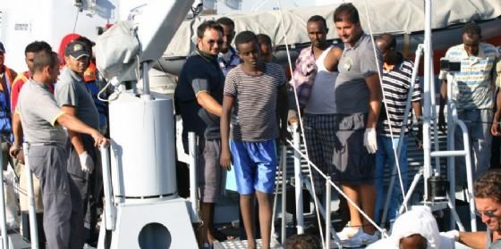 Sbarco a Lampedusa