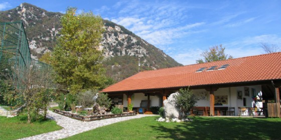 Centro visite Riserva Naturale Regionale del Lago di Cornino (© F. Genero)