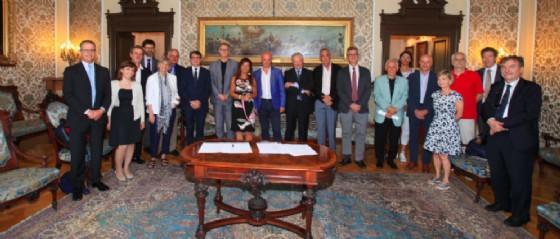 Firmato il Protocollo Trieste città della conoscenza (© Comune di Trieste)