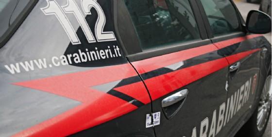 Provvidenziale l'intervento dei carabinieri (© Diario di Biella)