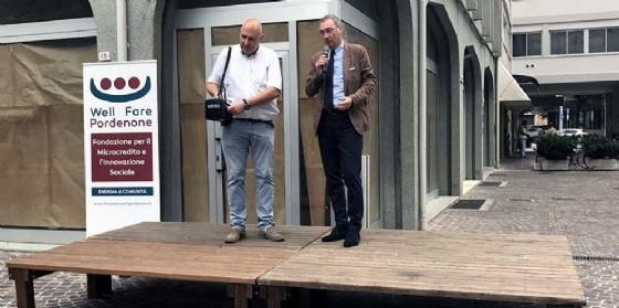 Sergio Bolzonello (Vicepresidente Regione FVG e assessore Attività produttive, Turismo e Cooperazione) alla cerimonia di inaugurazione della Fondazione Well Fare (© Foto ARC Liberti)