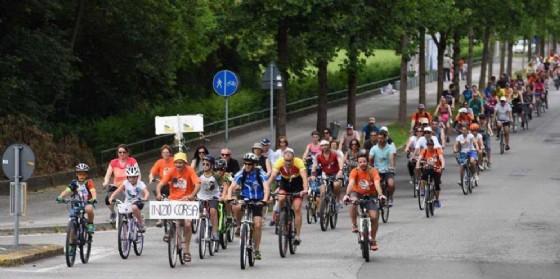 Parcoarcobaleno in bicicletta alla scoperta dei parchi del territorio (© Arcobaleno onlus di Porcia)