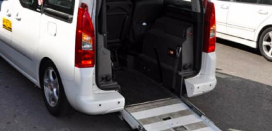 I mezzi per disabili si stanno logorando (© Radio Taxi Trieste)