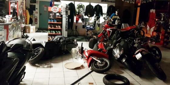 Furto di moto a Gemona: danni per oltre 35 mila euro (© G.G.)