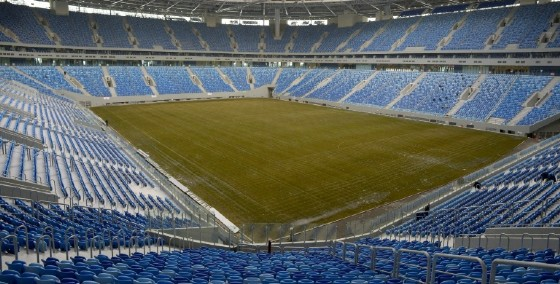 The Krestovsky Stadium in Saint Petersburg has been mired in scandal, taking over a decade to build at an estimated cost of $800 million, amid allegations of corruption