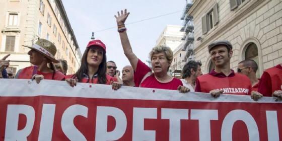 Cgil in piazza, Camusso: «Con voucher schiaffo a democrazia»