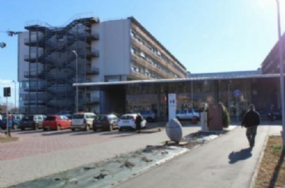 Il pensionato è stato portato all'ospedale (© Diario di Biella)