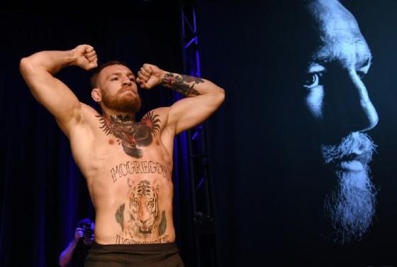 Ireland's Conor McGregor has made him name as a mixed martial arts fighter