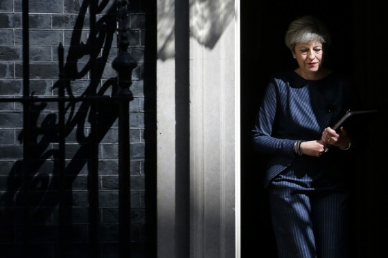 Prime Minister Theresa May's entire approach to the EU was called into question after a disastrous election performance on June 8