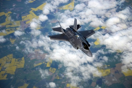 Most non-industry visitors come for thrills such as an F-35 ripping through the sky