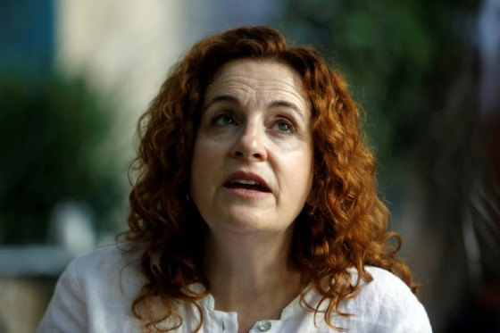Israeli-American novelist Ayelet Waldman said there was a growing gap between young American progressive Jews and Israel