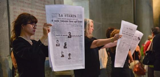 La performance della compagnia sabato scorso ha fatto il pieno dei posti disponibili (Foto di Silvia Fiore) (© DocBi)