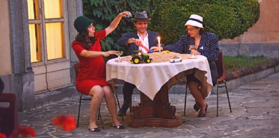 Esibizione degli attori non professionisti nei musei di Vercelli, prossima tappa museo Borgogna