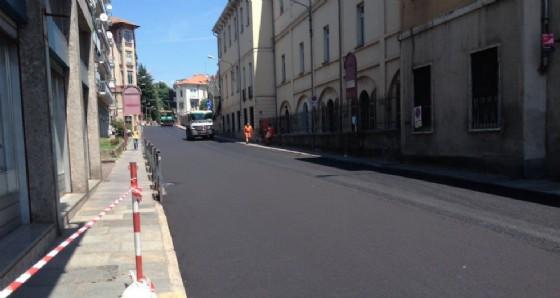 I lavori sono quasi terminati (© Diario di Biella)