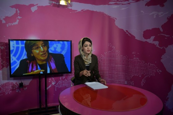 """Afghanistan's Zan TV, or """"Women's TV"""", aims to challenge expectations of female roles when it begins broadcasting this year."""