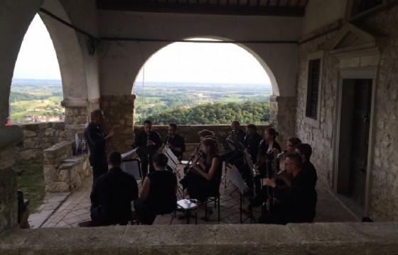 Musica al castello di Zucco per il Piccolo Festival (© Ufficio Stampa Piccolo Festival)