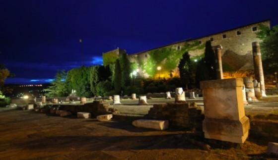 Una delle location scelte per gli appuntamenti con Trieste estate (© Castello di San Giusto)