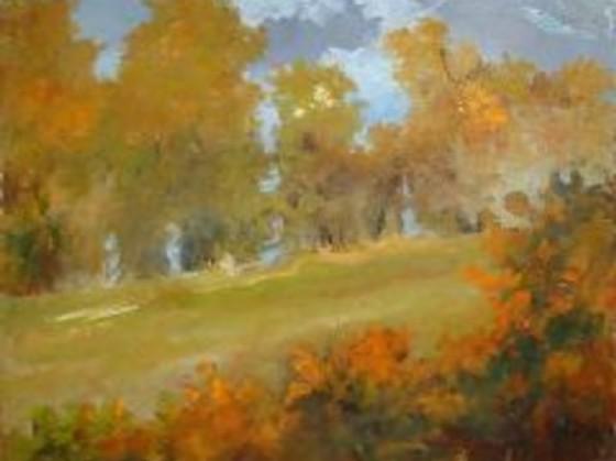 Un dipinto della mostra «Dolente metamorfosi»