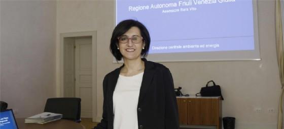 Sara Vito, assessore regionale all'Ambiente (© Diario di Trieste)