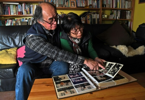 Philip Fok moved from Hong Kong to Australia in 1992 with his wife and two children because he felt unsure of what would happen after the handover back to China on July 1 1997.
