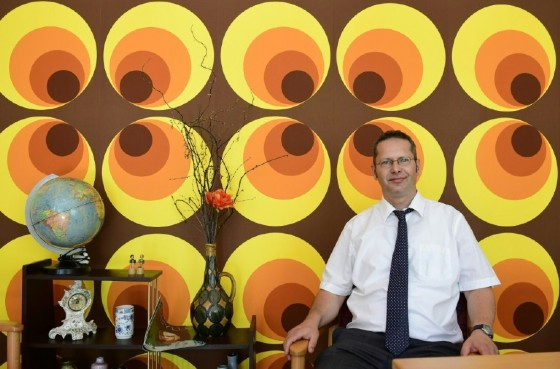 Director of the Alexa nursing home in Dresden Gunter Wolfram says immersion in yesteryear bric-a-brac has produced 'dramatic results' in patients