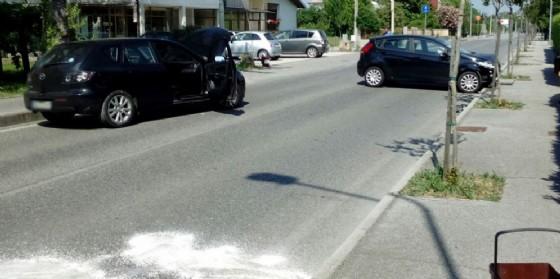 Incidente a Brazzano, coinvolte due auto e strada bloccata
