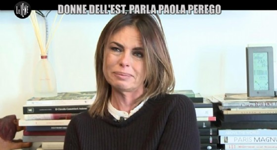 Paola Perego parla alle Iene