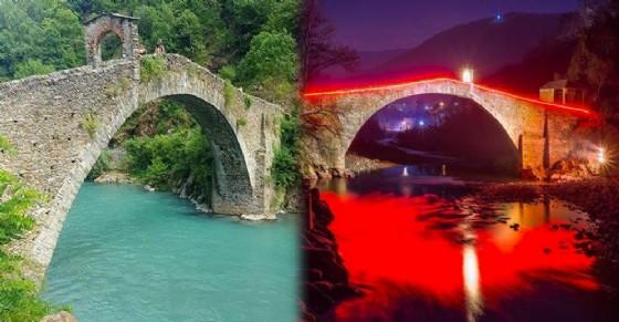 Due immagini del ponte del diavolo (© Lina Marone/Fabio Santini)