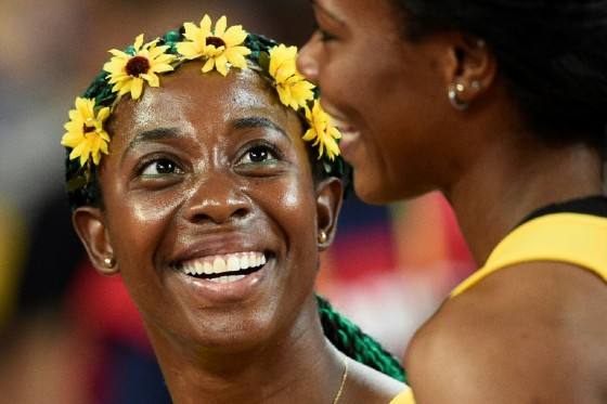 Jamaica's Shelly-Ann Fraser-Pryce has a clutch of Olympic and world sprint golds