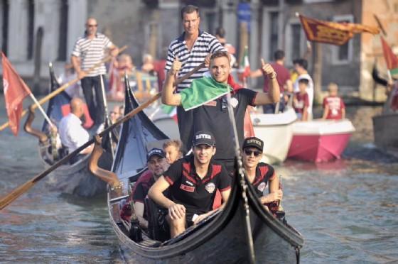 La Reyer festeggia lo scudetto a San Marco