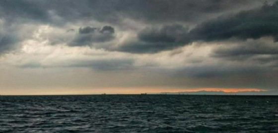 Il maltempo ha colpito anche Trieste (© @paola_santoro78)