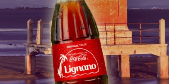 Lignano tra le località scelte da Coca Colaper il suo ultimo concorso a premi (© Coca Cola)