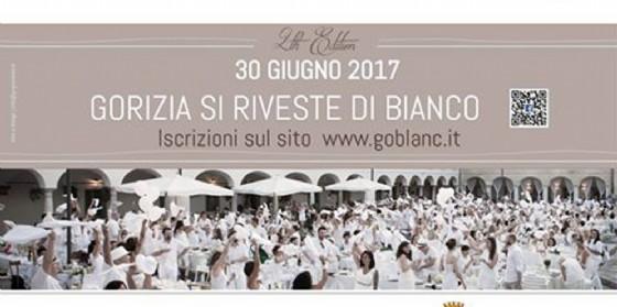 GoBlanc: torna a Gorizia la cena in bianco!