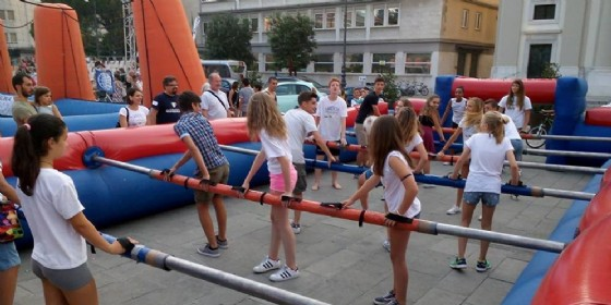 Vittoria d'estate a Gorizia: sport, divertimento e spettacoli in piazza (© Smilevents)