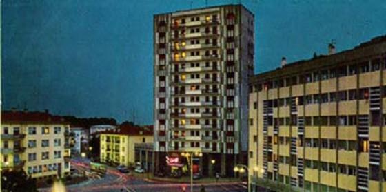Giovanni Santin è il padre di una serie di edifici rappresentativi che negli anni del boom dettero il volto nuovo a Pordenone, tra questi il grattacielo Santin e l'omonimo Hotel (© Pic Click It)