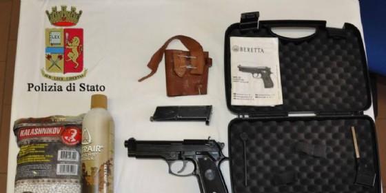 Spara al vicino di casa con una pistola sotf air: denunciato