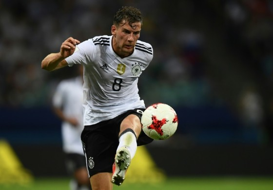 Germany's midfielder Leon Goretzka secured his position as a Confederations Cup top scorer and his team's position in the finals when he scored two goals against Mexico