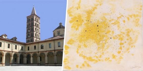 Opera di Fontana L. presente al Museo del territorio Biellese
