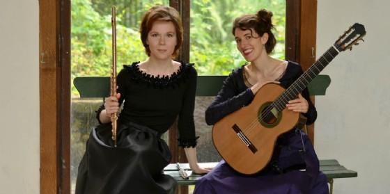 Note in città: il concerto del duo Spalinger Minder a Brazzano (© Centro Chitarristico Mauro Giuliani di Gorizia)