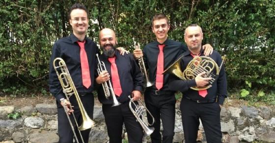 Il quartetto di ottoni «4ever Brass»