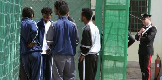 Migranti in detenzione