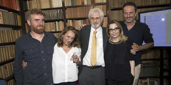 I cinque finalisti premiati al Premio Strega 2017