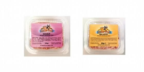 Due immagini dei prodotti richiamati per contaminazione da salmonella