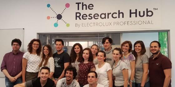 Prodotti alimentari innovativi: ideati e realizzati da studenti Uniud presso il Research Hub di Electrolux Professional