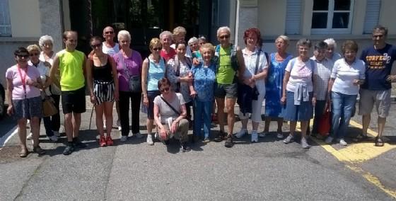 I partecipanti alla gita di giovedì scorso